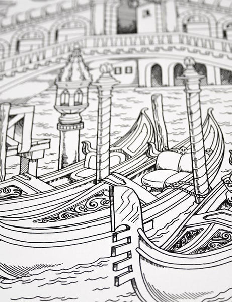 Around The World In 50 Pages Illustrated By Hasby Mubarok – ColorIt