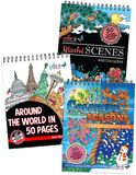 Landscapes Bundle - Around the World, Blissful Scenes, Colorful Seasons