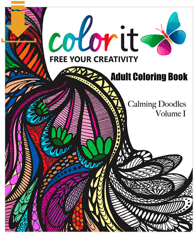 Calming Doodles Volume 1 Digital Download Version