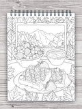 colorit delightful desserts and sweet treats adult coloring book