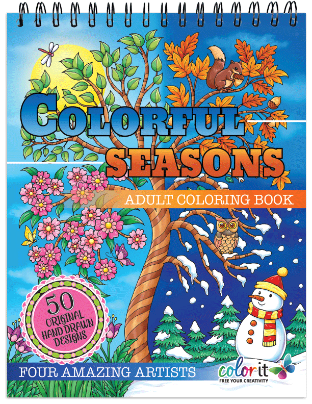 Colorful Seasons Illustrated by Hasby Mubarok, Terbit Basuki, Ivan Gatarić and Stevan Kasih
