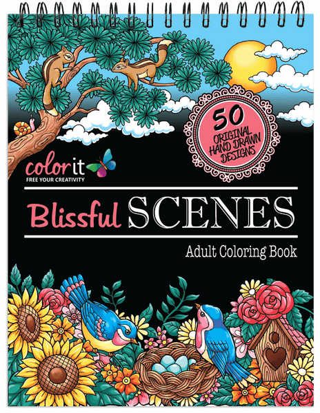 Colorit great escape bundle 3 coloring books 50 art marker set 48 gel