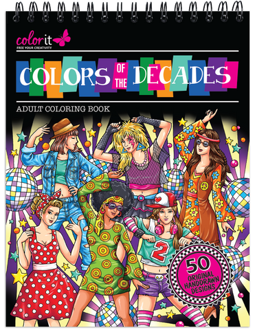 Colors of the Decades Illustrated By Hasby Mubarok