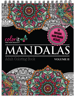 Mandalas Volume 2 Illustrated By Terbit Basuki
