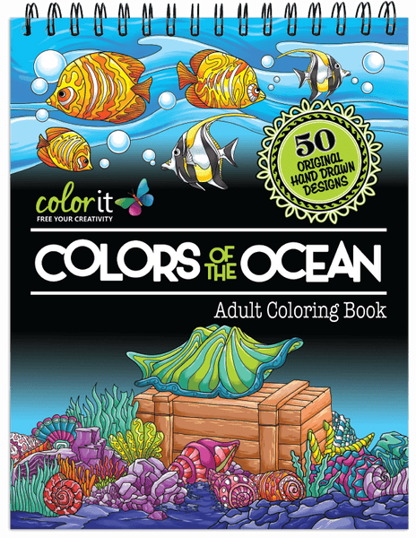 Colors Of The Ocean Illustrated By Stevan Kasih