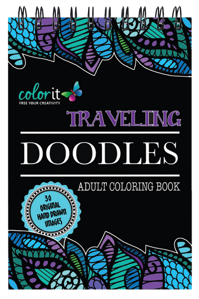 Traveling Doodles Illustrated By Virginia Falkinburg