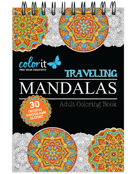 Traveling Mandalas Illustrated By Terbit Basuki