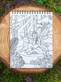 colorit fairies book for adult coloring animal fairy, forest fairy
