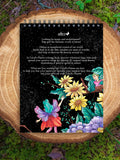 colorit fairies coloring book for adults back cover flower fairies