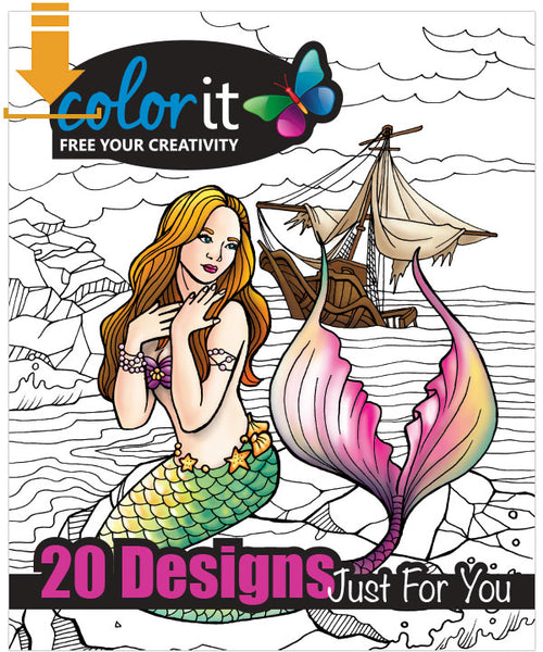 Introduction To ColorIt Download Pack Of 20 Drawings