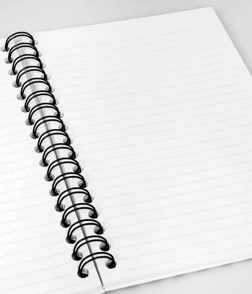 My Journal Colored Spiral Notebook Journal 200 Lightly Lined Pages