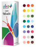 24 Color Liquid Watercolor Ink Bottle Set