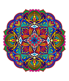 Mandalas To Color Volume 1 Digital Download Version