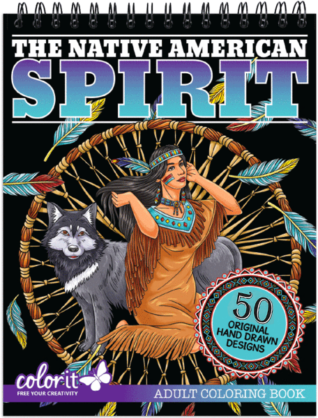 - ColorIt: Native American Adult Coloring Book Of Dream Catchers, Tribal  Symbols And Mandalas, Animal Spirits And Landscapes