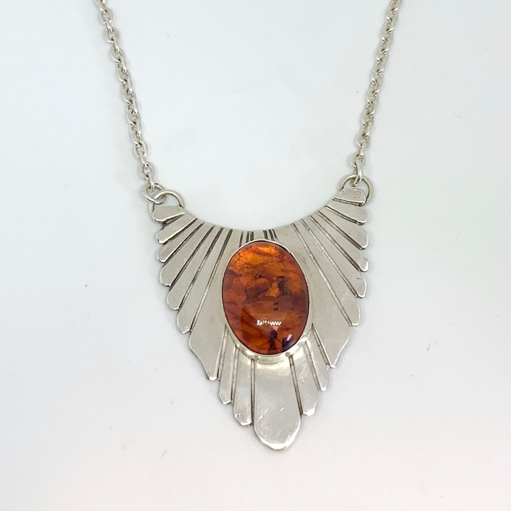 Gatsby Necklace (Baltic Amber)