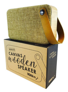 Moana Road Canvas & Wood Bluetooth Speaker