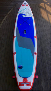 "Hala Rival Nass 12' x 32"" Inflatable Touring SUP (Paddle Included)"