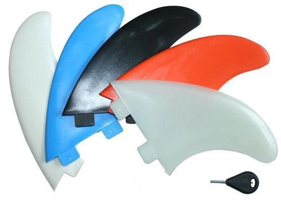 Curve Nylon Thruster Fin Set - Black Size N7