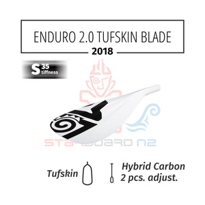 Starboard Enduro 2.0 Tufskin Paddle 2 PCS Adjustable