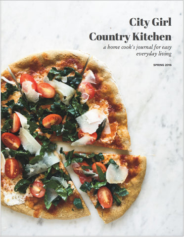 City Girl, Country Kitchen Spring 2016 {print issue - U.S. only}