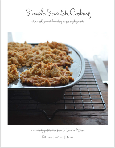 Simple Scratch Cooking: Fall 2014 {digital issue}