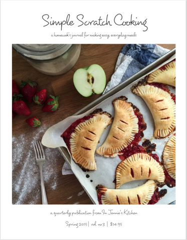 Simple Scratch Cooking: Spring 2015 {digital issue}