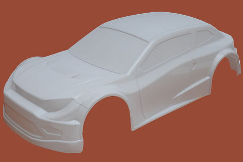 131100P0 - Rally X4 Body Shell