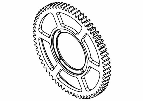 201304S - Center Spur Gear Z60 (Opt.)