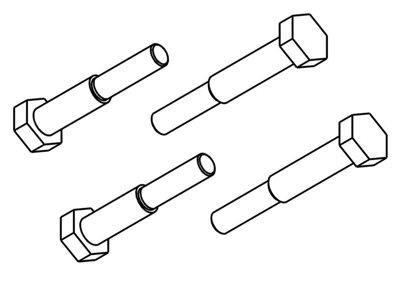 260501S - Brake Pad Carrier Screw Set