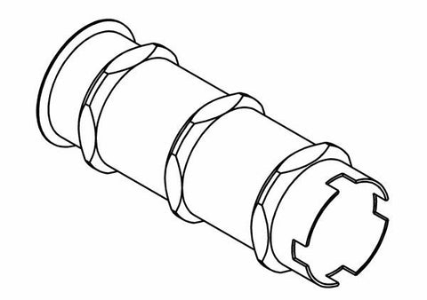 323801A - Ibs C/r Adjustable Shock Absorber Internal Front Cylinder