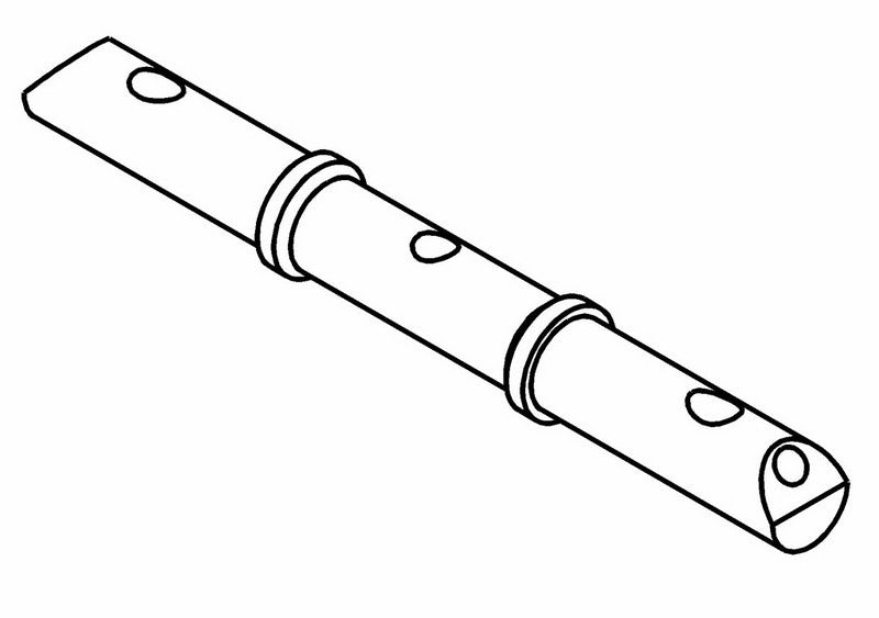 360201A - Anti-Roll Bar Shaft