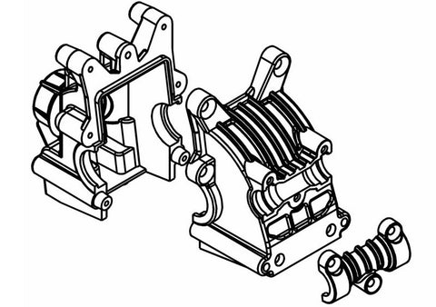 415101P - Front/Rear Diff. House Set