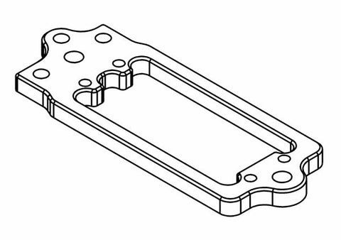 415303A - Brake Plate Alloy Servo Adapter (opt.)