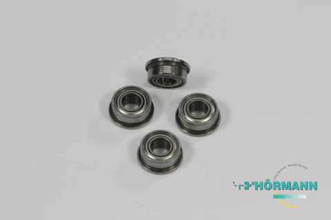 02/042 - Flanged ball bearings 9 x 4 x 4 mm