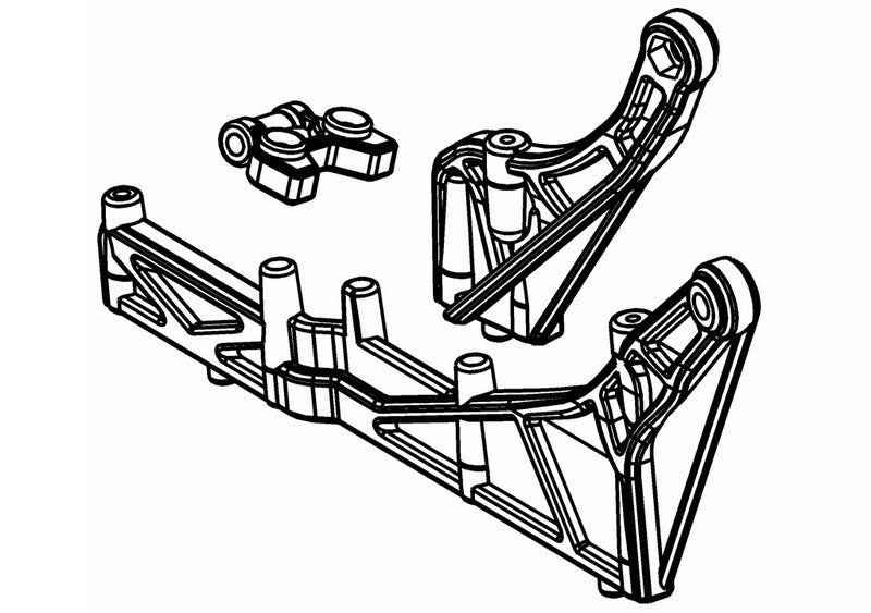 445201P - Rear Stiffener Set