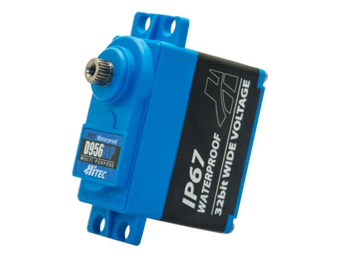 Hitec D956WP 32-Bit (High Torque, Waterproof, Steel Gear Servo)