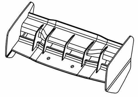 500301P - Buggy Rear Wing