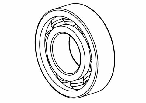 600401S - Ball Bearing 6901 2RS 12x24x6