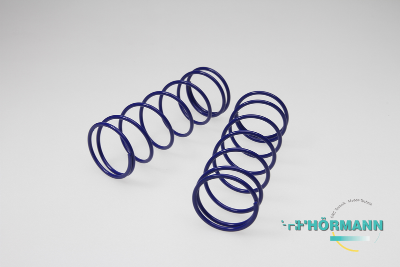 03/612 - Big-Bore shock absorber springs (ID = 33 mm, L = 105 mm) blue