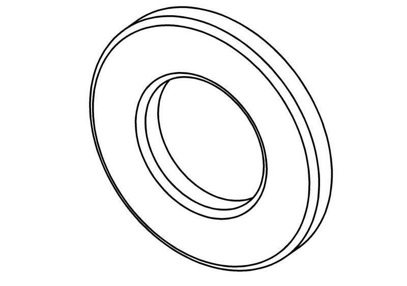655401S - Plain Washer 3 mm
