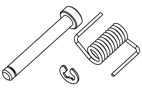 700501S - Fuel Tank Lid Pin / Spring / Clip
