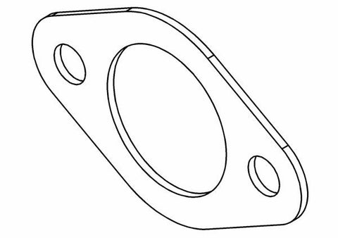 725701P - Carburetor / Air Filter Venturi Gasket
