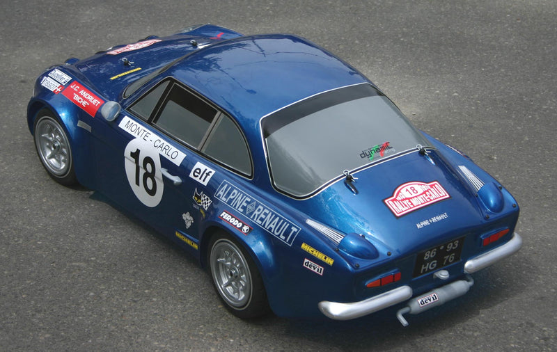 RENAULT ALPINE - kit Club with Zenoah engine and bodyshell (ABS)