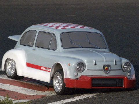 FIAT 600 - kit Club with Zenoah engine and bodyshell (ABS)