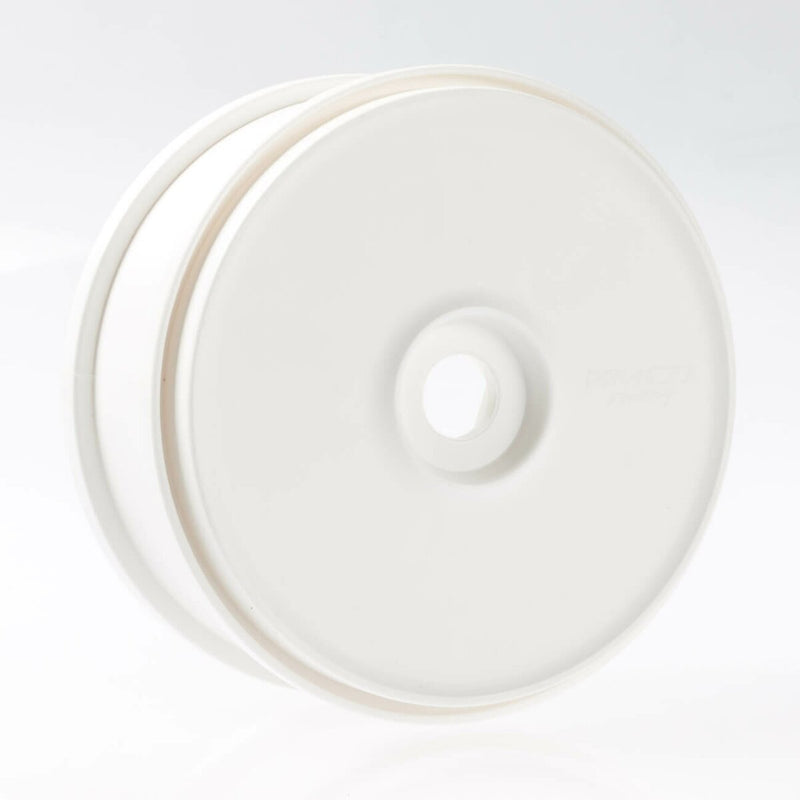 100104P - Wheel White Dish Disc 180 Mm