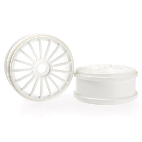100112P - Wheel White 17 Spoke 180 Mm