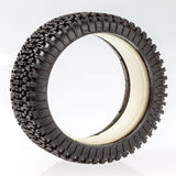 100213X - MCD Tyre 180 Mm Dirt-Xross Blue Soft + Wheels White