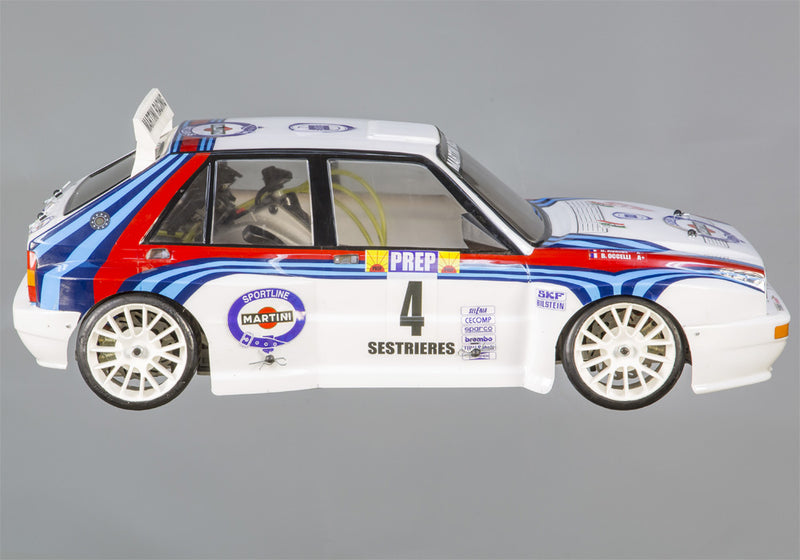 LANCIA DELTA - kit Club with Zenoah engine and bodyshell (ABS)