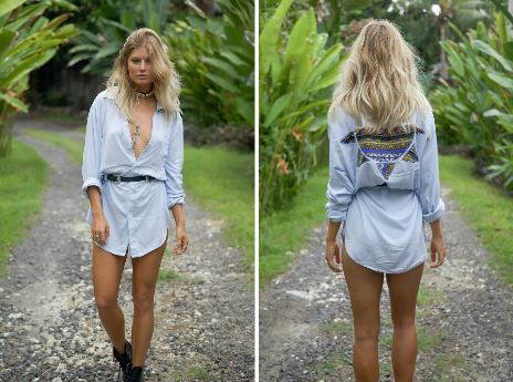 The Emily oversized boyfriend shirt
