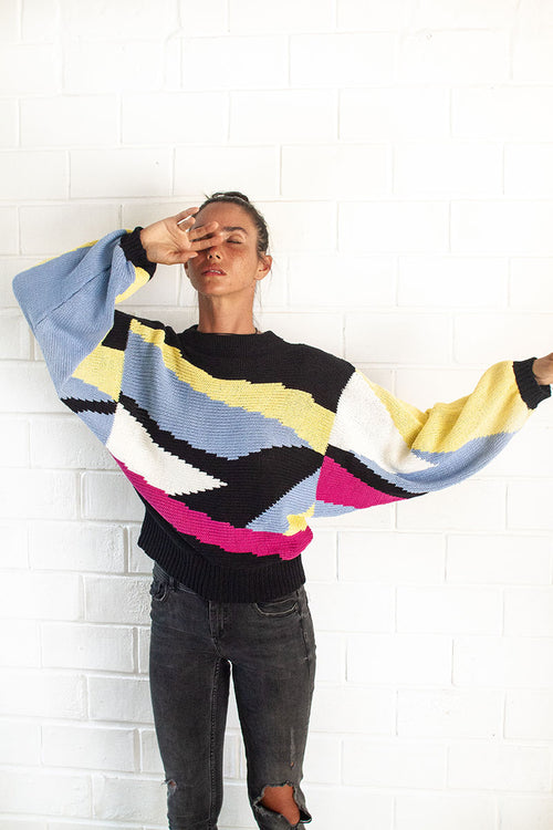 Retro Knit Jumper